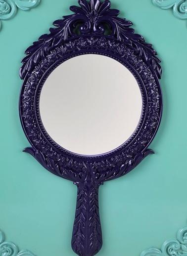 Round Intaglio Dekoratif Ayna-Dekorazon